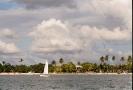 Доминикана. Вид на побережье с катера