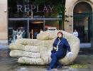 Бельгия. Антверпен. Скульптура Чистые руки Антверпена