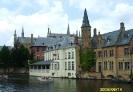 Бельгия. Брюгге. Канал Розенхудкаай