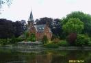 Бельгия. Брюгге дом на озере Любви