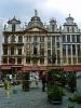 Бельгия. Брюссель. Дома на Большой Площади (Гран Плас)