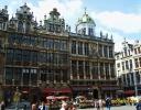Бельгия. Брюссель. Дома на площади Гран Плас