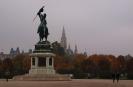Вена.Статуя эрцгерцога Карла-Людвига-Иоанна на площади героев. (Хельденплац)
