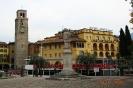 Италия. Набережная Рива дель Гарда и башня Аппонале