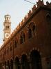 Италия. Верона. Башня Ламбертии