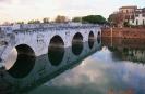 Италия. Римини. Мост Тиберия