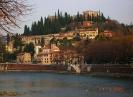 Италия. Верона. Река Адидже и холм Св. Петра